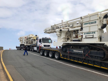 Reichdrill Drill Rigs Arriving At Durban Port