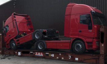 Truck Heads To Karachi